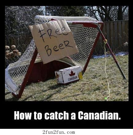 How to catch a Canadian