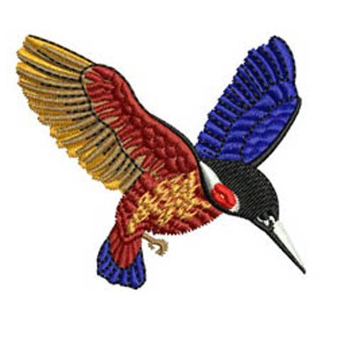 Kingfisher Embroidery