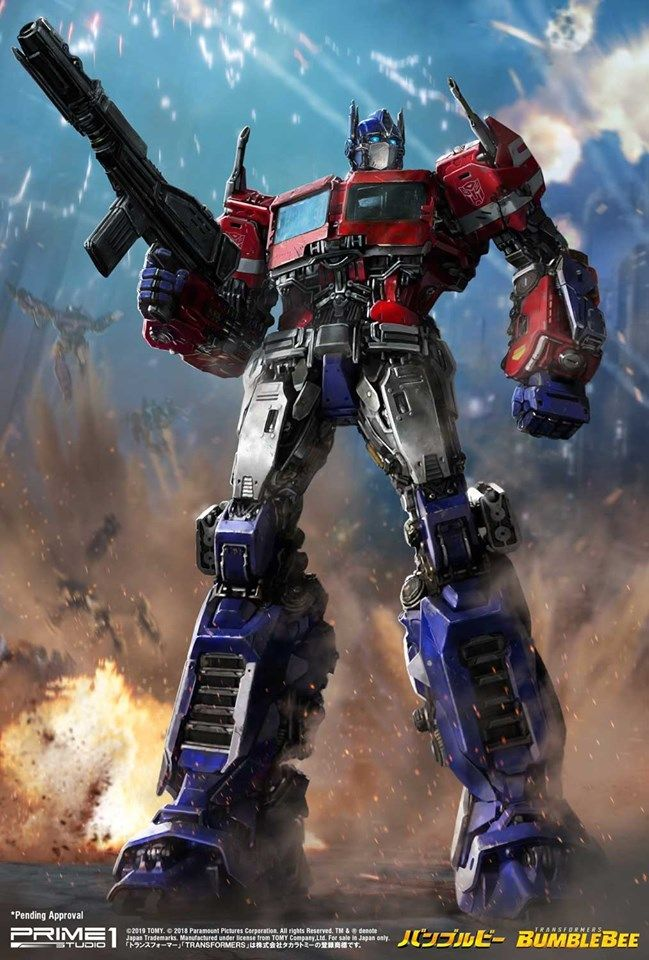 Optimus from Bumblebee Transformers artwork