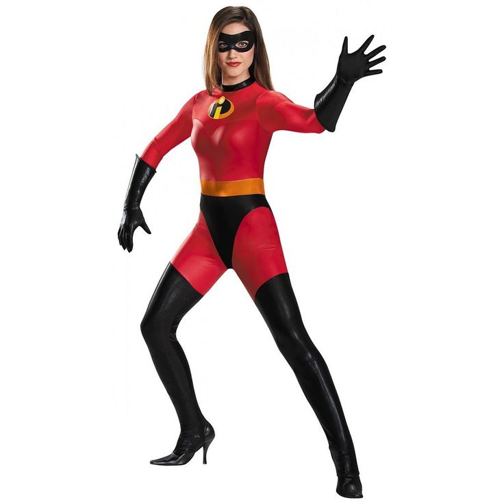 Mrs Incredible Costume The Incredibles Halloween Fancy Dress #Disguise