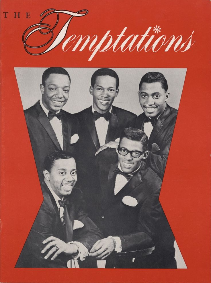 The temptations and motown music
