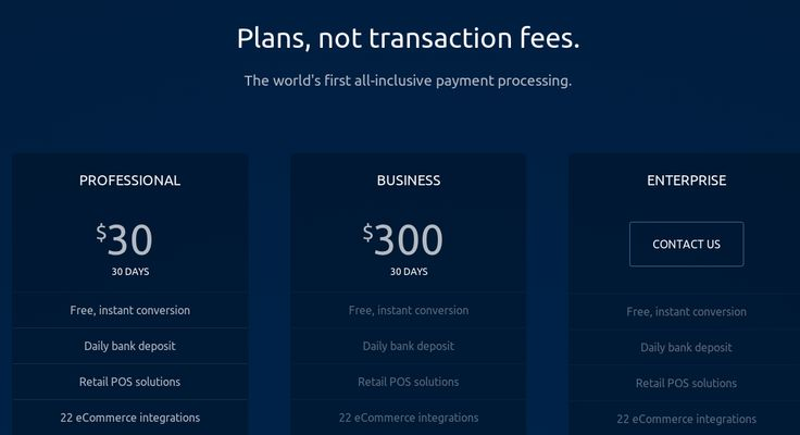 Plans, not transaction fees. For #Bitcoin