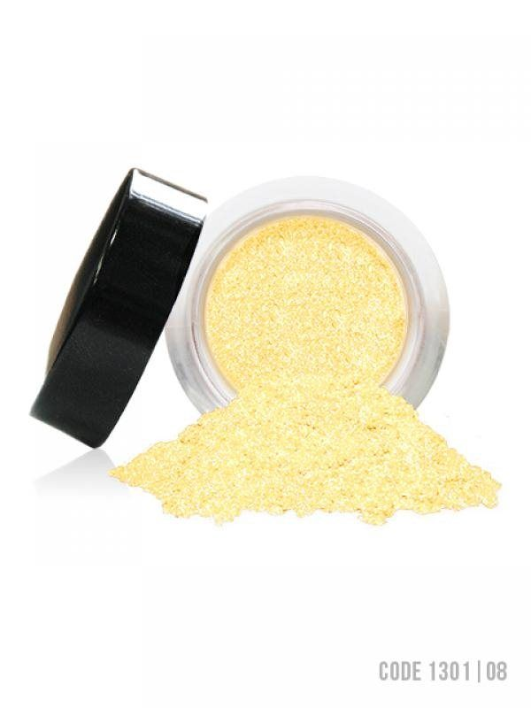 Revecen 08 Yellow Perfect Star Powder. RRP $11. Selling $3 + Postage. Pastel Hues Box