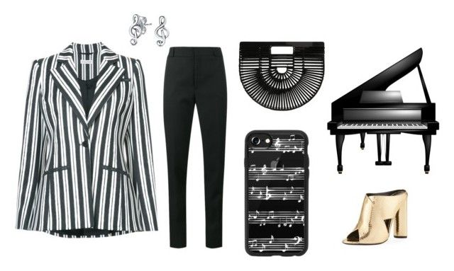 """""""Piano"""" by explorer-14860390596 on Polyvore featuring мода, Altuzarra, Yves Saint Laurent, Tom Ford, Cult Gaia, Casetify и Bling Jewelry"""