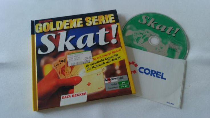 288) Buch: Goldene Serie: SKAT mit CD, NEU, Preis 10€ (Skatkarten auch im Angebot siehe 328)