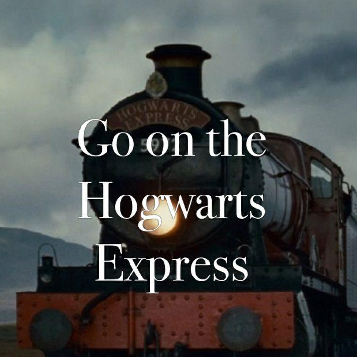 ~• go on the Hogwarts Express •~