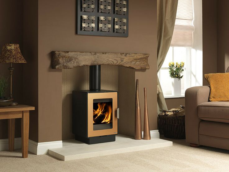 Woodburners, Wood & Multifuel Stoves   Bradley Stoves Sussex   Logfire LF4   http://www ...