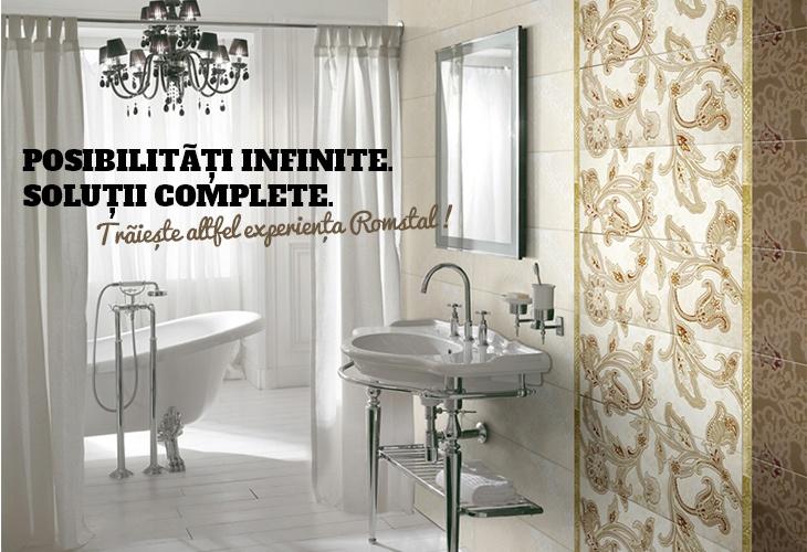 Camera de baie...un loc de relaxare si rasfat al simturilor!