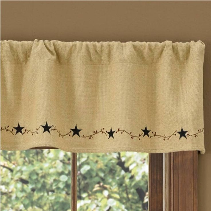 1000 Images About Pattern Burlap Star On Pinterest The Natural Curtain Rods And Swag Curtains