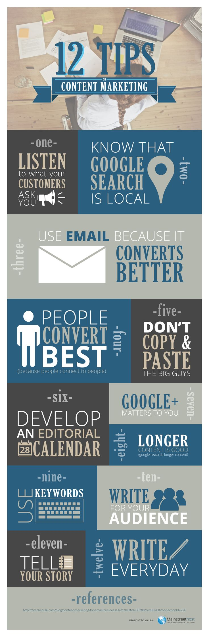 12 Content Marketing Tips Really Successful Small Businesses Follow [Infographic] http://www.webtonic.co.nz/