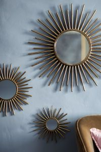 Round Mirror | Gold-colored | H&M HOME | H&M US