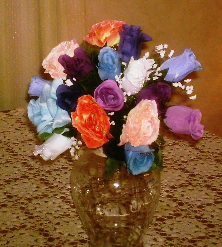 Special color combination for a bride