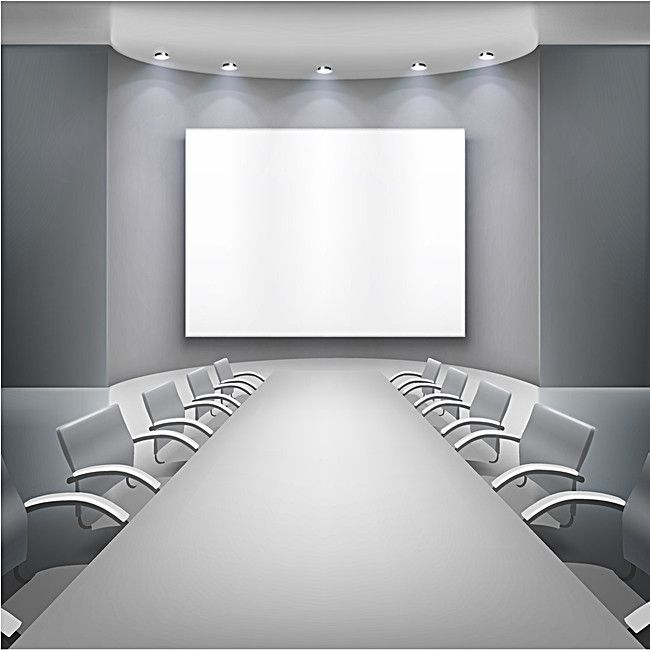 3d Meeting Room Minimalist Silver Background In 2021 Silver Background Meeting Room Minimalist Office meeting background images hd