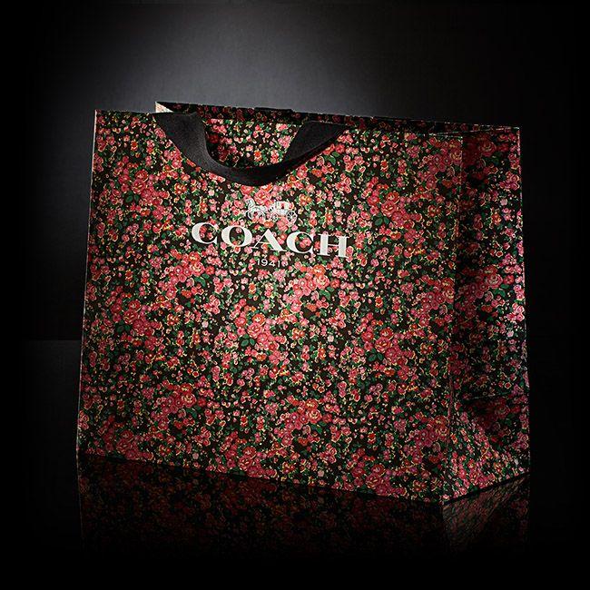 Trenér květinový maloobchodní nákupní taška design Packaging Inc