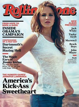 Jennifer Lawrence on the April 12, 2012 cover. #longreads