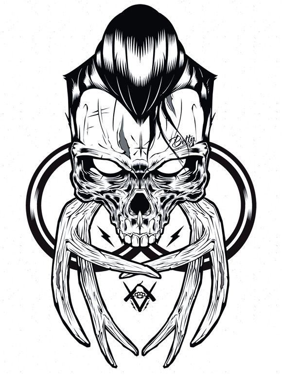Graphic design art black and white  Hydro74 Illustration Graphic Design Art Poster Black and White ...