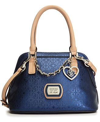 GUESS Handbag, Margeaux Amour Dome Satchel