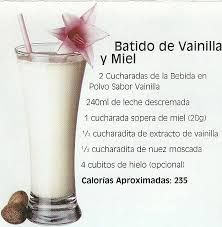 El hielo mejora el sabor de los batidos nutricionales de Herbalife.