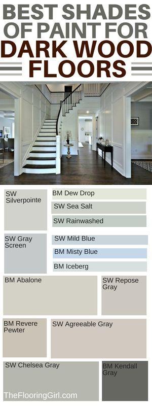 best shades of paint for dark hardwood floors #paint #shades #dark #hardwood #diy #homedecor #diyhomedecor