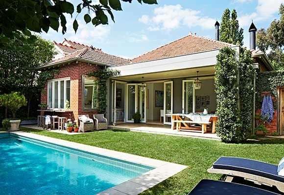 This Melbourne family lapped up the chance to restore an original Federation villa and they're now enjoying the many rewards.