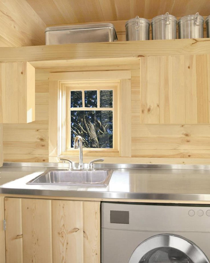 four lights tiny house company. Pictured: *Gotta Have A Window Over The Kitchen Sink!* - · Tiny House CompanyTiny Four Lights Company H