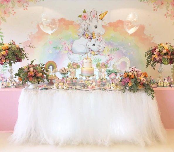 18 best decoraci n para cumplea os de unicornios images on - Decoracion para cumpleano ...