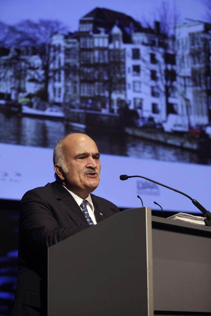 Opening Ceremony International Water Week and Aquatech Amsterdam 2013 with keynote speaker HRH Prince El Hassan bin Talal