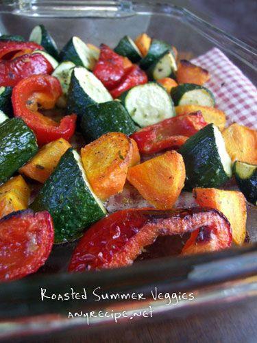 野菜のロースト : カリフォルニアのばあさんブログ