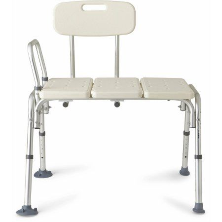 Medline Transfer Bench with Back Image 2 of 7