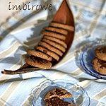 Gryczane ciasteczka imbirowe