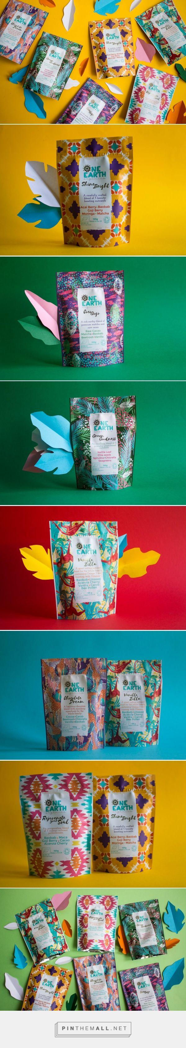 One Earth Organics packaging design by MoKalache.Design - http://www.packagingoftheworld.com/2017/03/one-earth-organics.html