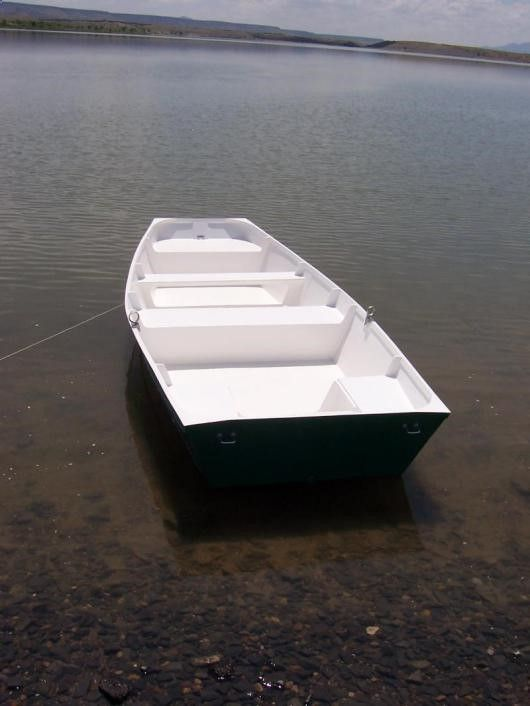 how to build a flat bottom boat