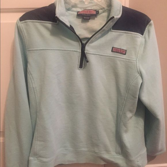 Vineyard Vine pullover Vine yard vine Mint pullover , it's a child's large but fits a size small Vineyard Vines Jackets & Coats