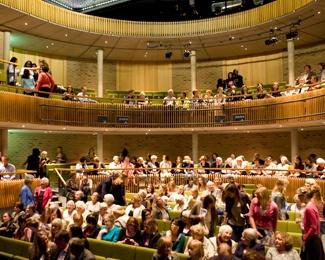 The Parabola Arts Centre auditorium