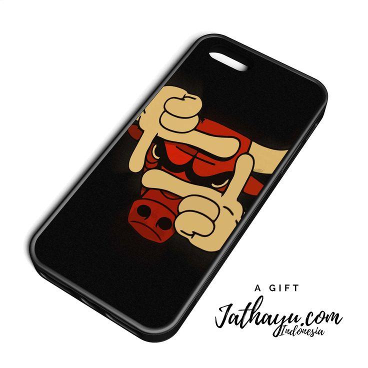 Custom case premium all iphone   chicago bulls finger