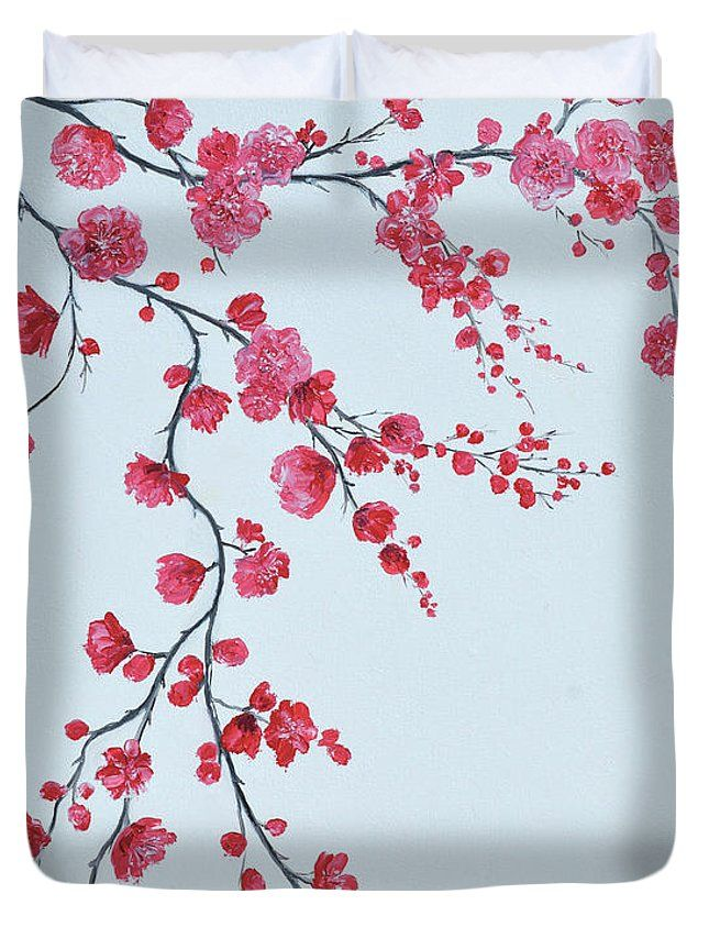 Japanese Cherry Blossom Duvet Cover For Sale By Jan Matson Cherry Blossom Tree Tattoo Japanese Cherry Blossom Blossom Tree Tattoo