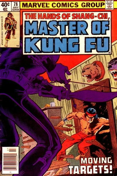 Master of Kung Fu # 78 by Mike Zeck