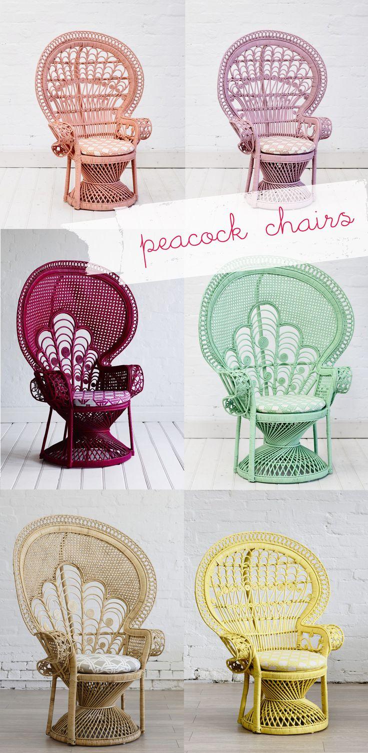 peackock chairs