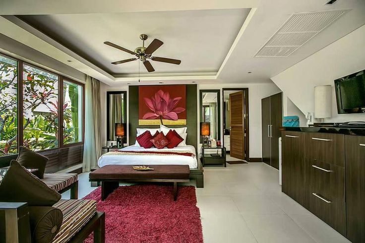 Every room at Villa Banyan is air-conditioned and fitted with satellite TV, iPod docking station, a Bose sound system, a digital safe and a local mobile phone. WiFi access is provided in all areas. #kohsamui #villa #thailand #luxuryvilla  http://www.thesamuivillas.com/villa/villa-banyan-koh-samui/