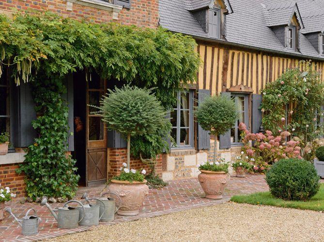 Les 25 meilleures id es de la cat gorie maison normande for Decoration maison normande