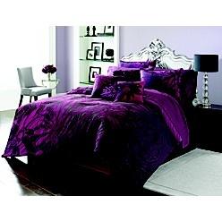 -Sofia Vergara Fantasy Floral Bedding Collection-Coordinating Comforter Set, Sheet Sets and Decorative Pillows