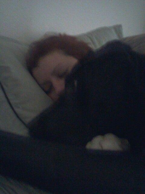 Waking mommy up.