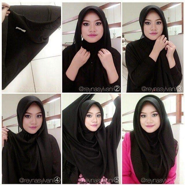 Classy Black Hijab Tutorial Hijab Fashion Inspiration Hijab Pinterest Inspiratie