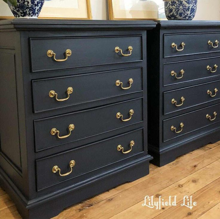 Beautiful Navy Fusion Mineral Paint Midnight Blue Drawers Blue Bedroom Furniture Blue Painted Furniture Grey Bedroom Furniture