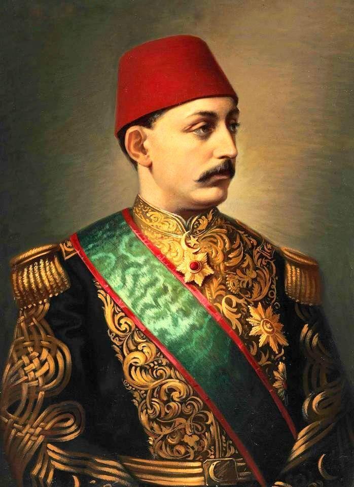 Portrait of Murad V - V. Murad - Vikipedi-Genç Murad'ın yağlı boya portresi, 19. yüzyıl