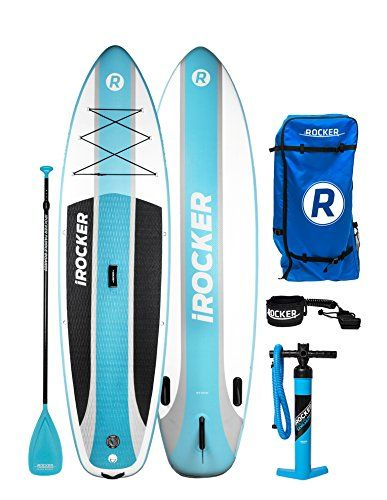 Irocker Cruiser Inflatable Stand Up Paddle Board 10 6 Lon
