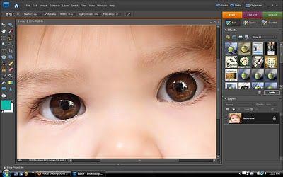 Tutorial: occhi marroni