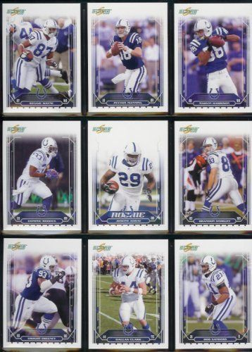 2006 Score Indianapolis Colts Super Bowl Champions Football Cards Complete Set of 14 Cards including Peyton Manning, Marvin Harrison,…