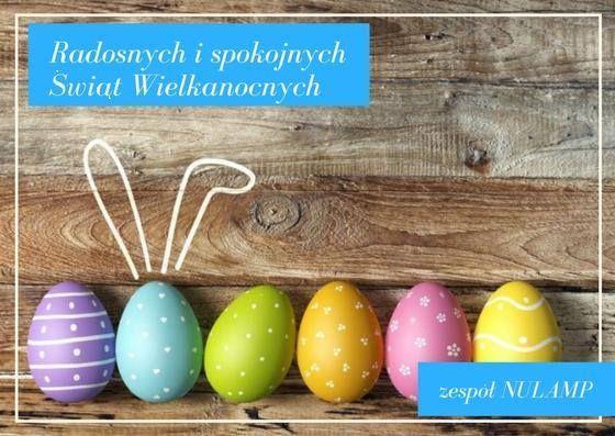Życzymy wesołych rodzinnych spokojnych Świąt Wielkanocnych!  :)
