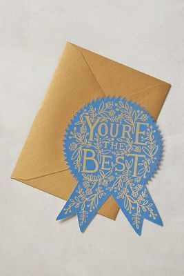 Rifle Paper Co. You're The Best Card #lettering #card